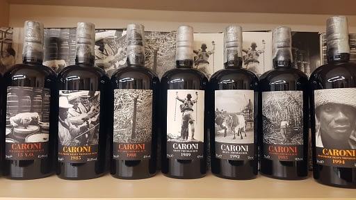 caroni rum set