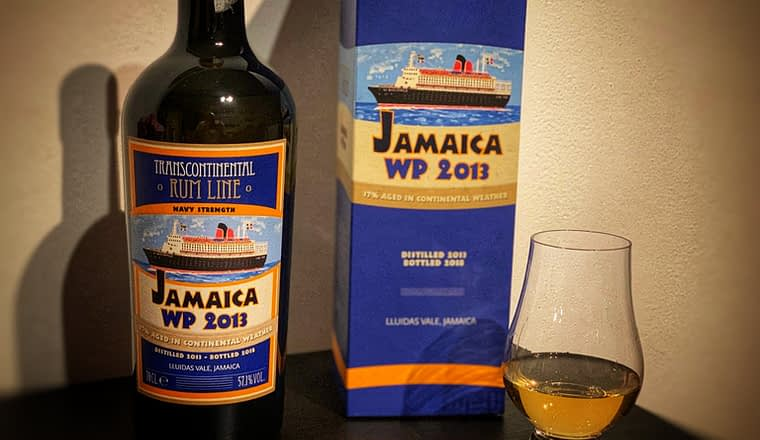 Transcontinental rum line WP 2013