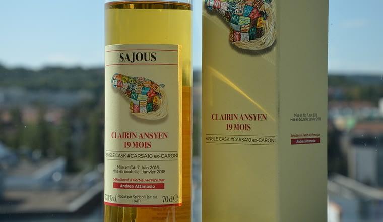 Clairin Sajous 19 Mois ex-Caroni