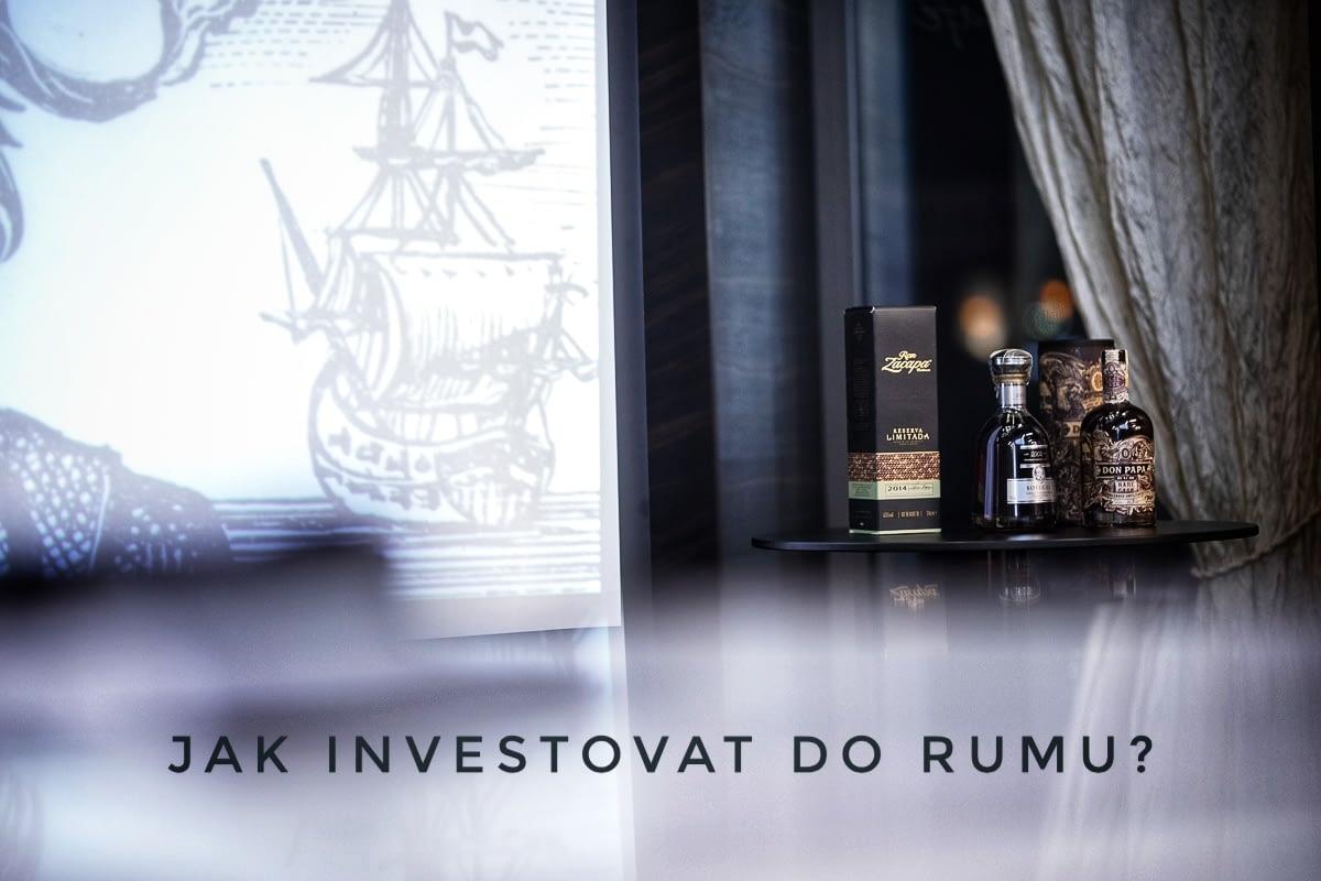 Jak investovat do rumu?