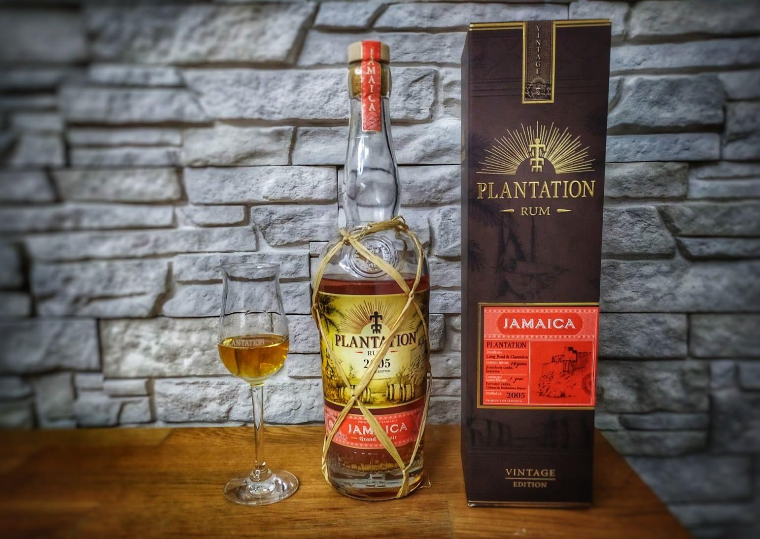Plantation Jamaica 2005 – Příkladně transparentní rum