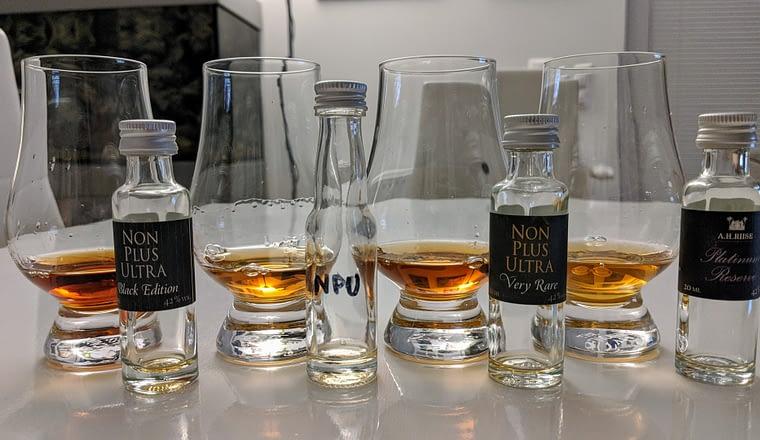 minidegustace premiovych rumu ahriise