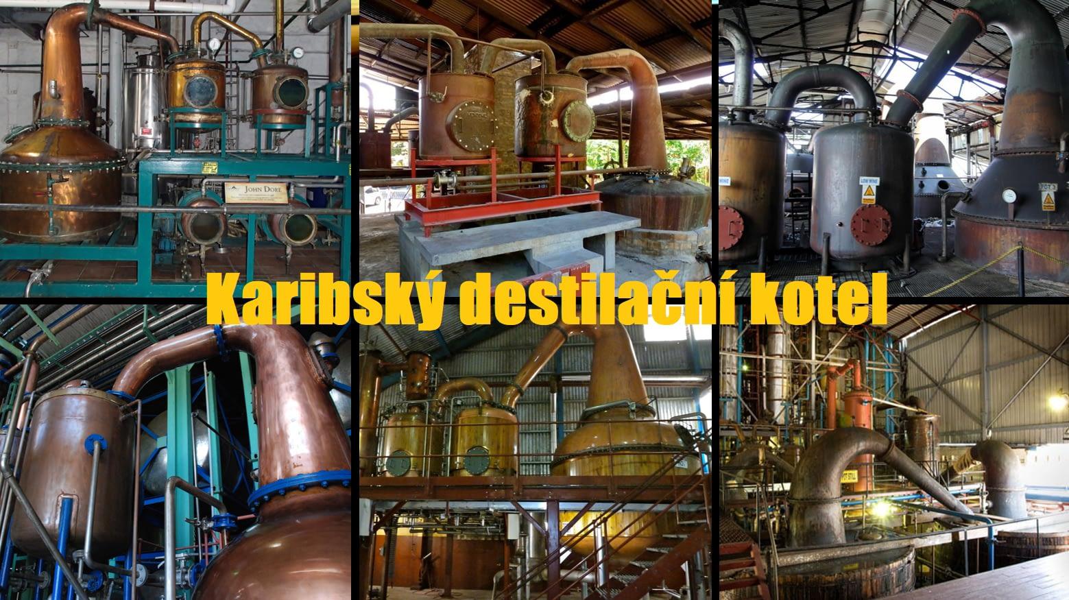 karibsky destilacni kotel