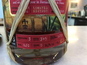 Plantation Jamaica Extreme No.3 HJC 1996 22 Years Old label