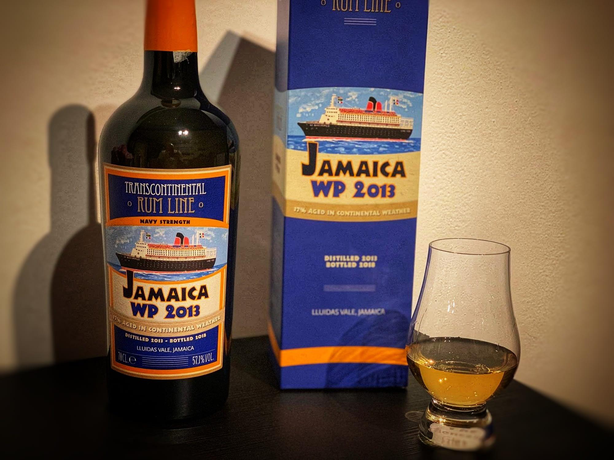 Transcontinental rum line WP 2013