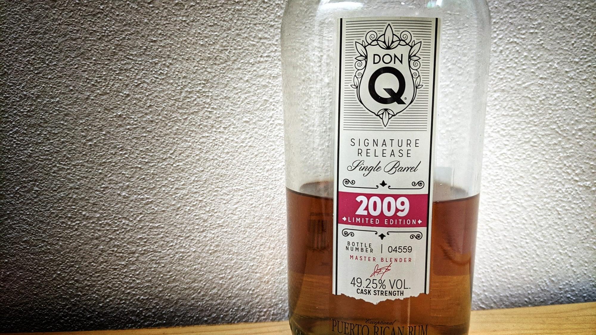 Don Q Single Barrel 2009