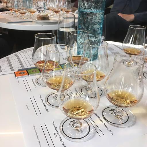 Hedonism spirit degustace rumů