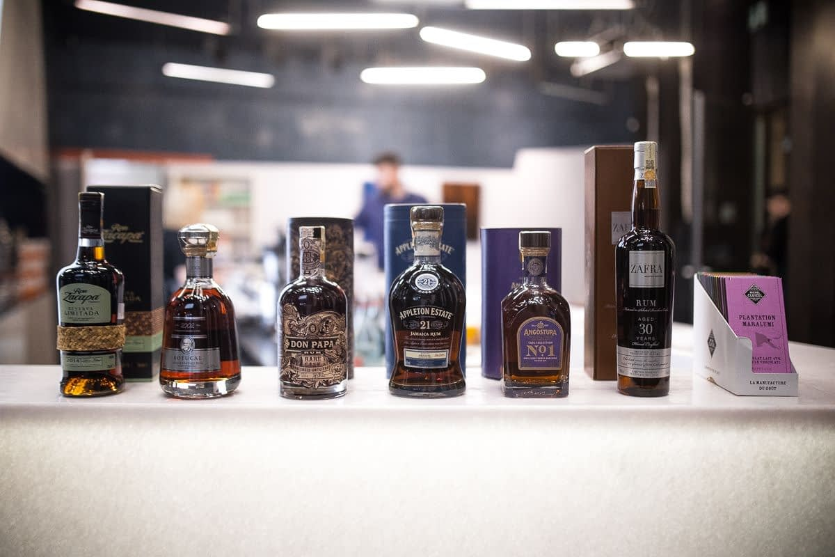 Degustace ultra prémiových rumů vol. 1 pod záštitou Hedonism Spirit