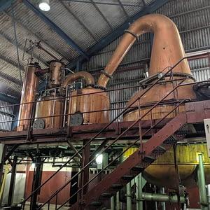 Worthy Park Forsyths destilační kotel