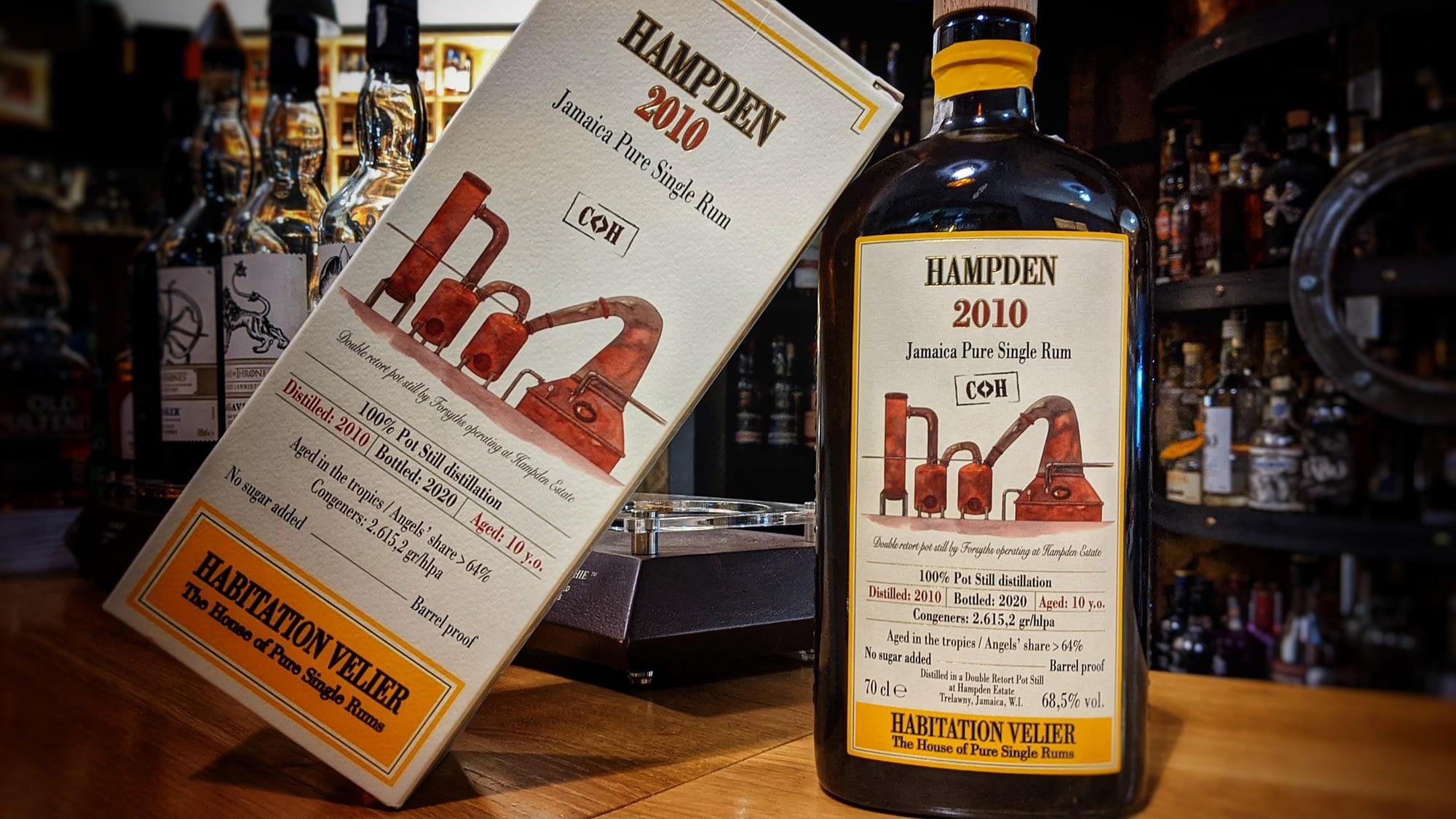 Habitation Velier Hampden CH – Smršť alkoholových přiboudlin