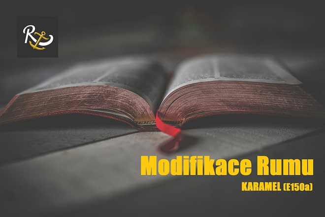 Modifikace rumu - karamel