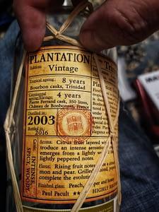 Plantation Trinidad 2003 label