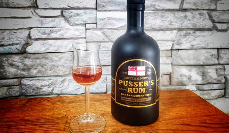 Pussers rum 50th anniversary