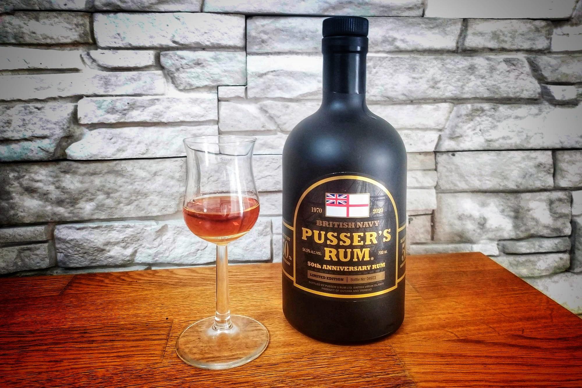Pusser's Rum 50th Anniversary – příjemný odkaz na smutnou událost
