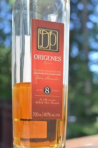 Don Pancho Origenes 8 bottle