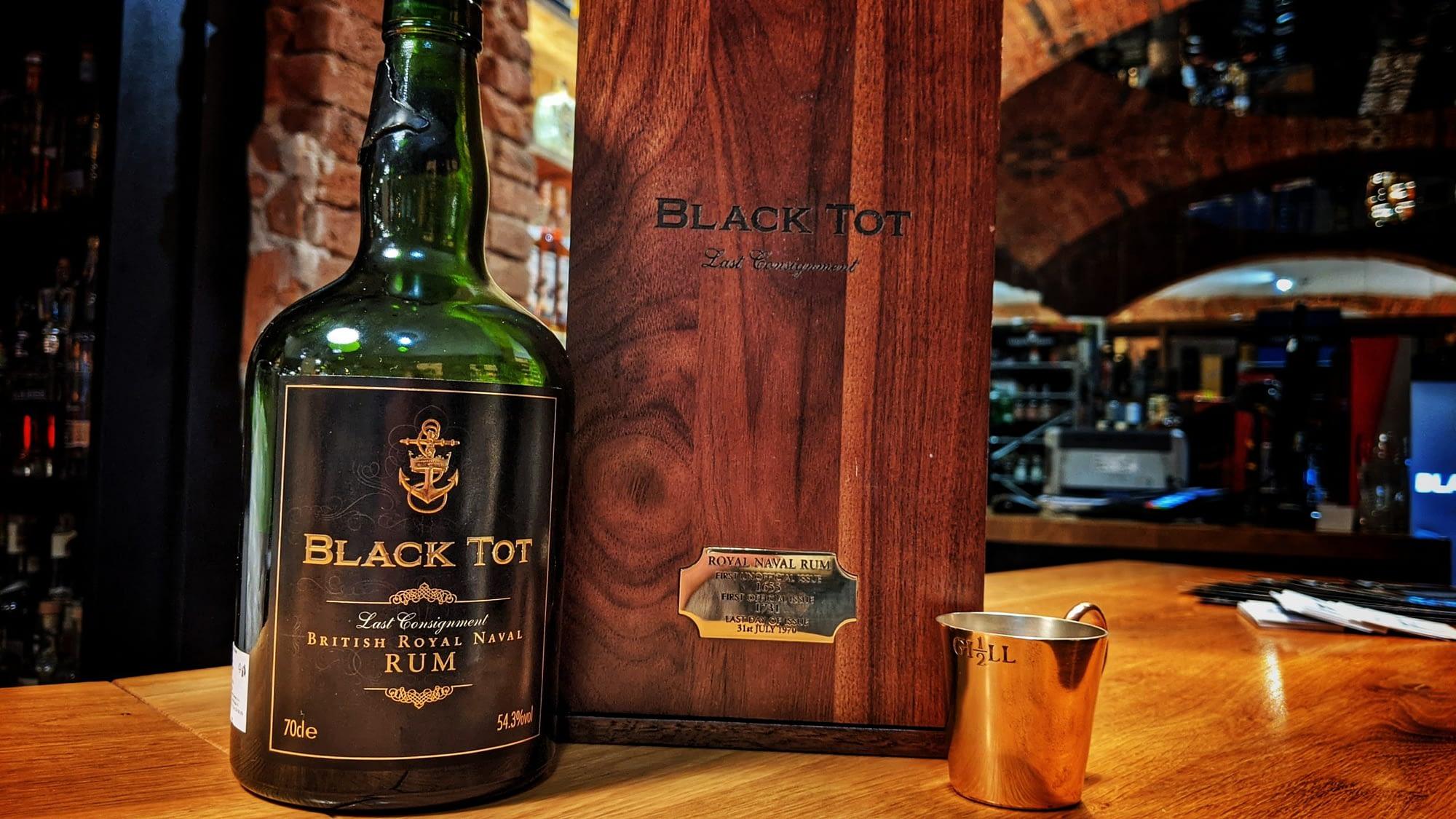 Black Tot Last Consignment  – Up Spirits!