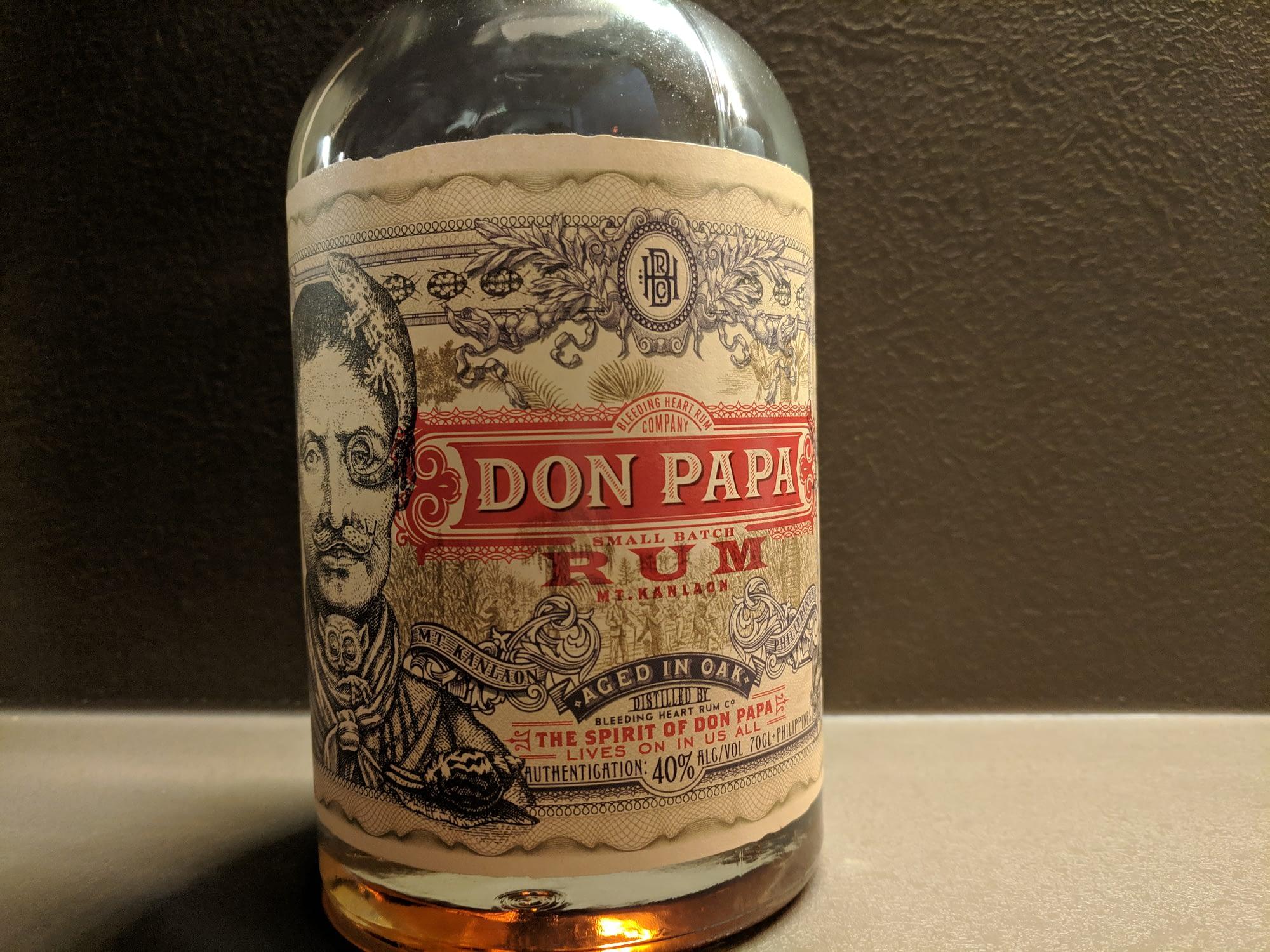 Rum Don Papa lahev