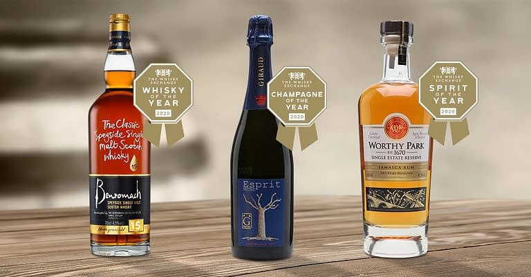 Chamapagne of the year, Spirit of the year a Whisky of the year