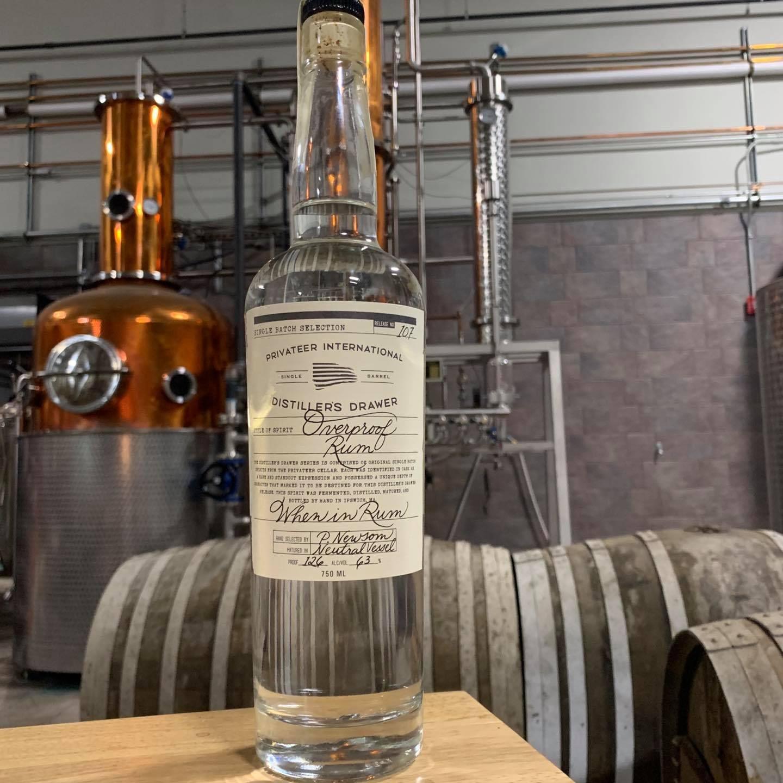 Privateer rum overproof rum