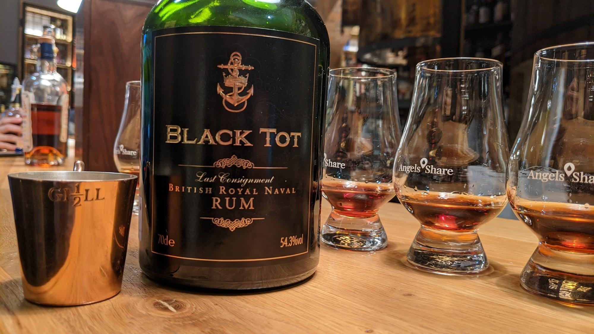 Black Tot Last Consignment tasting
