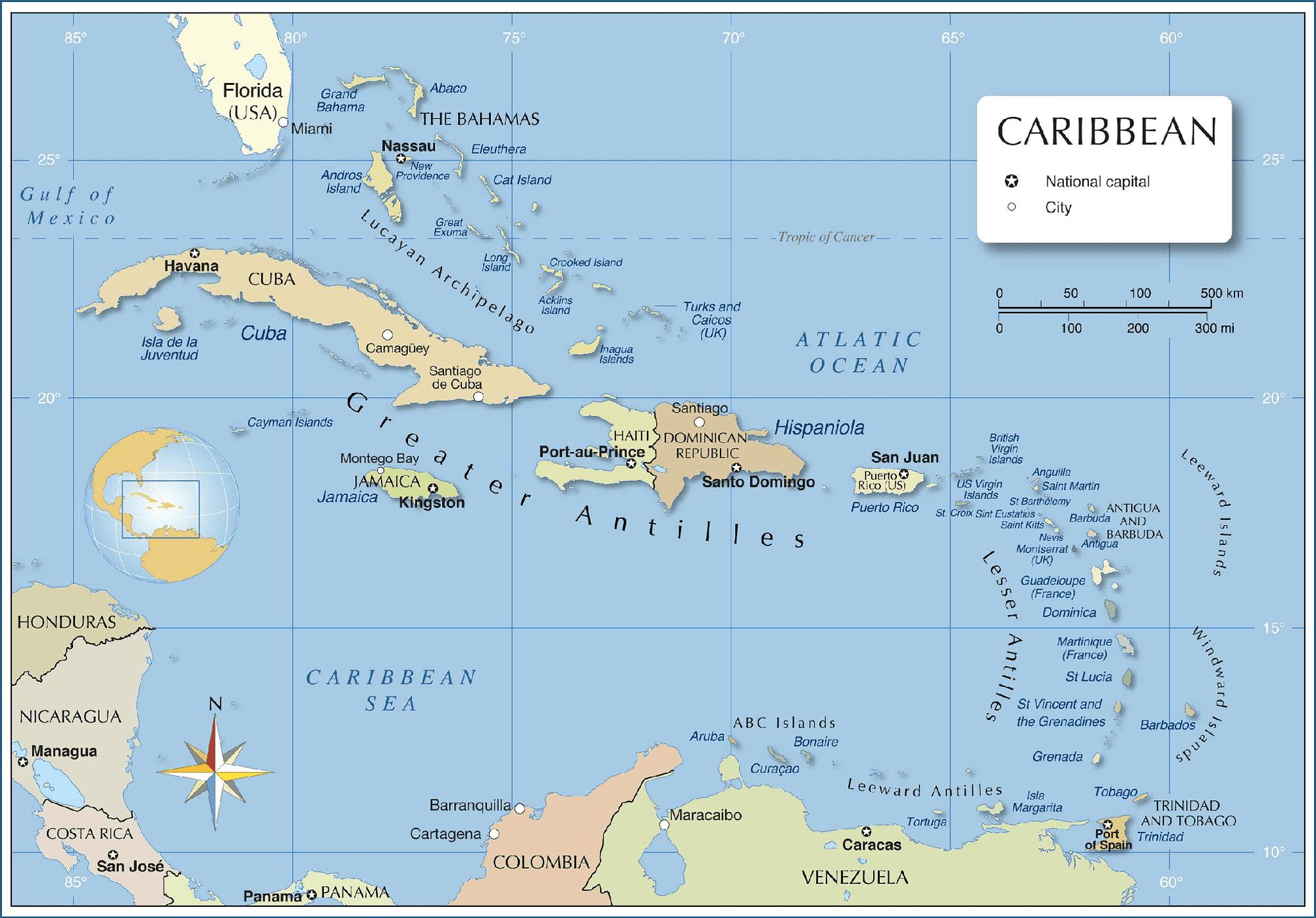 Antigua-a-Barbuda-location