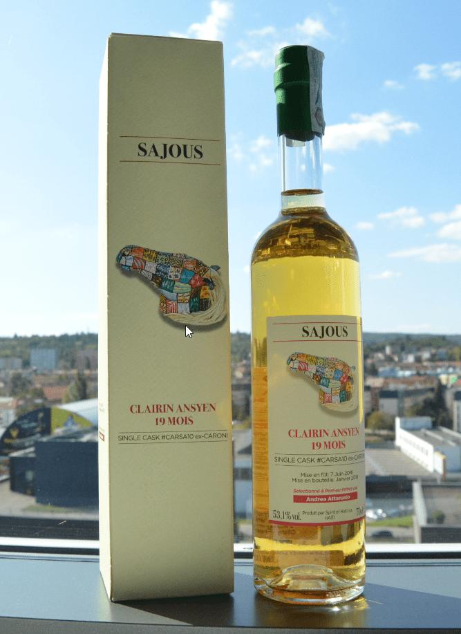 Clairin-Sajous-19-Mois-ex-Caroni-bottle