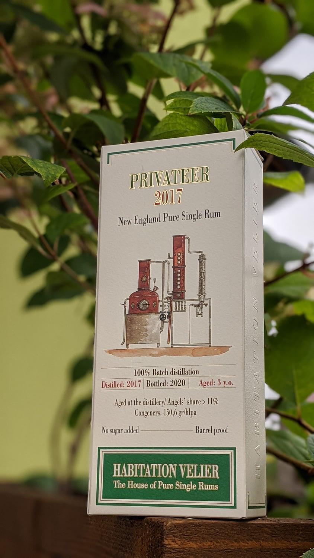 Habitation Velier privateer 2017 box
