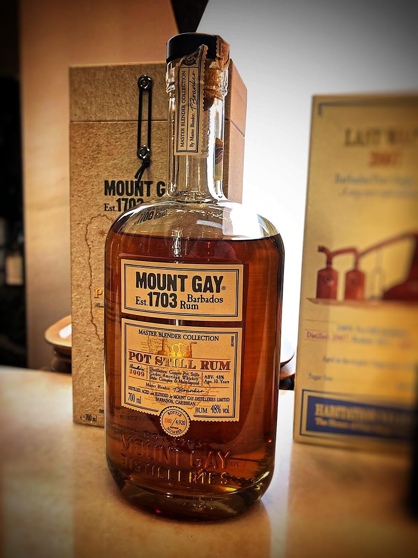 mount gay pot still bottle