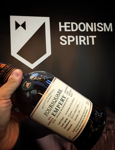 foursquare empery at hedonism spirit